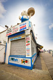 Historic Coney Island Boardwalk Royalty Free Stock Images