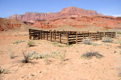 Historic Corral Royalty Free Stock Images