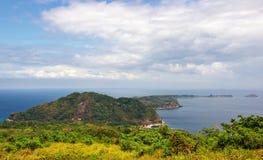 Historic Corregidor Island. The top of the hill view of historic corregidor island Stock Photo