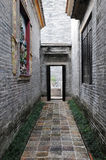 Historic corridor structure royalty free stock image