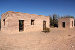 Historic Costolon Architecture. In Big Bend National Park, Texas royalty free stock photography