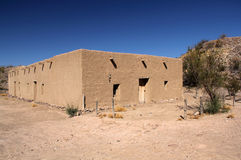 Historic Costolon Architecture. In Big Bend National Park, Texas stock image