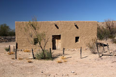 Historic Costolon Structure. Historic Buildings in Costolon, Big Bend National Park, Texas Stock Images