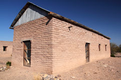Historic Costolon Structure. Historic Buildings in Costolon, Big Bend National Park, Texas Stock Photos