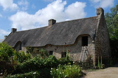 Historic country house in Brittany Royalty Free Stock Image