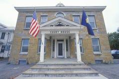 Historic court house, VT Stock Photo