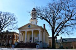 Free Historic Courthouse In Old Town, Warrenton, VA Stock Photography - 176857652