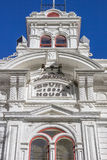 Historic courthouse at main street Bridgeport Royalty Free Stock Photography