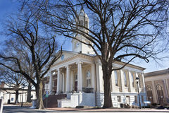 Historic courthouse in Old Town, Warrenton, Virginia Stock Image