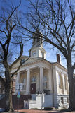 Historic courthouse in Old Town, Warrenton Virginia Stock Images