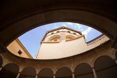 Historic Courtyard, Palma Royalty Free Stock Photo