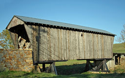 Historic Covered Bridge Royalty Free Stock Image