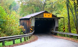 Historic Covered Bridge Royalty Free Stock Photos
