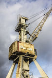 Historic crane Royalty Free Stock Image