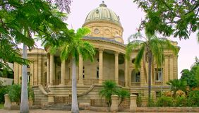 Historic Customs House,Rockhampton. Customs House is situated on the South Bank of The Fitzroy River, in Quay Street, Rockhampton, Queensland, Australia. Quay stock photo