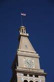Historic D&F Clocktower - Denver Stock Photos