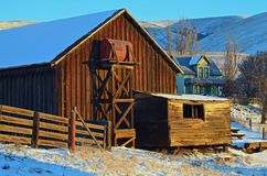 Historic Dalles Mt Ranch. Dalles Mt Ranch is on the Washington side of the Columbia River Gorge not far from The Dalles, Or Royalty Free Stock Photography