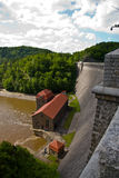Historic dam in Pilichowice, Poland Royalty Free Stock Photos