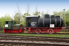 Historic Dampfspeicherlok in museum Speyer Royalty Free Stock Photo