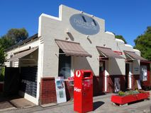 The historic Darlington Post Office established in 1908 in a suburb of Perth,. Darlington, Western Australia-  December 23, 2017:  The historic Darlington Post Stock Image