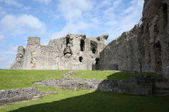 Historic Denbigh Castle in Wales, Great Britain Royalty Free Stock Photography