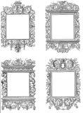 Victorian style frames vector illustration