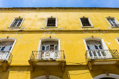 Historic Dilapidated Building Stock Images