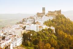 Historic  district in  Arcos de la Frontera, Spain Royalty Free Stock Photos