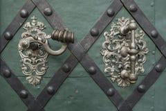 Historic door handle Royalty Free Stock Image