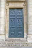 Historic door with steps royalty free stock images