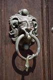 Historic doorhandle Royalty Free Stock Images