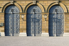 Historic doors in Munich, Germany Royalty Free Stock Photos