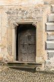 Historic doors of Orava castle royalty free stock photos