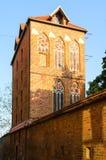 Historic Dovecote Tower (Baszta) in Torun, Poland. Stock Photos