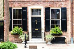 Historic downtown area city of Charleston royalty free stock image