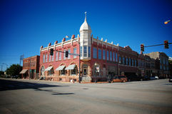Historic downtown building Stock Images