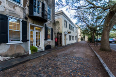 Historic Downtown Charleston South Carolina on a Warm Day Stock Photography