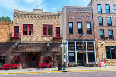 Historic Downtown Deadwood Stock Photo