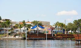 Historic Downtown Stuart Waterfront Stock Photo