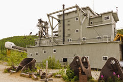 Historic dredge No. 4 National Historic Site Royalty Free Stock Photo