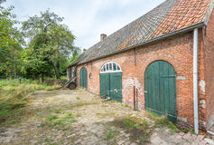 Historic Dutch farm from 1885 Stock Photo