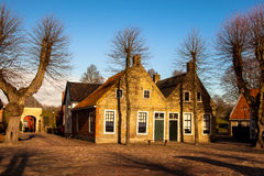Historic Dutch houses Royalty Free Stock Photography