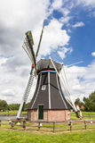 Historic Dutch polder mill Royalty Free Stock Photos