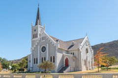 Historic Dutch Reformed Church in Barrydale Stock Photo