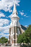 Historic Dutch Reformed Church in Beaufort West Royalty Free Stock Photos