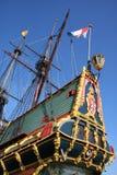 Historic dutch ship Stock Images