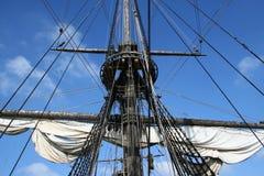 Historic dutch ship Stock Photography