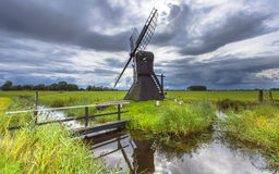 Historic Dutch Windmill Stock Photography