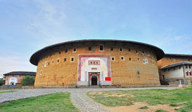 Historic earthen buildings Royalty Free Stock Images