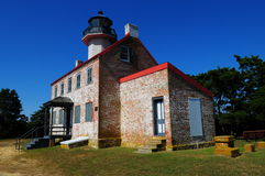 Historic East Point Lighthouse Stock Images